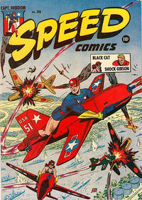Cover Thumbnail for Speed Comics (Harvey, 1941 series) #36
