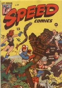 Cover Thumbnail for Speed Comics (Harvey, 1941 series) #37