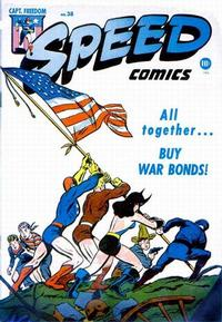 Cover Thumbnail for Speed Comics (Harvey, 1941 series) #38