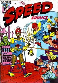 Cover Thumbnail for Speed Comics (Harvey, 1941 series) #43