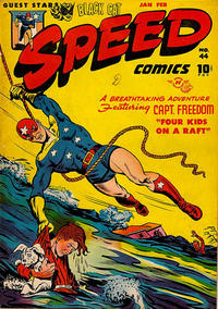 Cover Thumbnail for Speed Comics (Harvey, 1941 series) #44