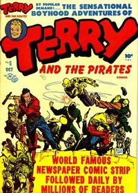 Cover Thumbnail for Terry and the Pirates Comics (Harvey, 1947 series) #6