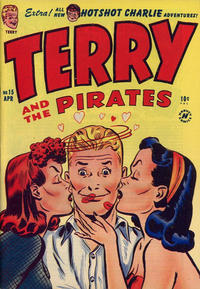 Cover Thumbnail for Terry and the Pirates Comics (Harvey, 1947 series) #15