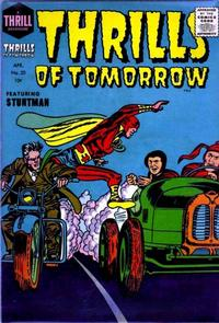 Cover Thumbnail for Thrills of Tomorrow (Harvey, 1954 series) #20