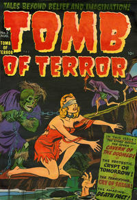 Cover Thumbnail for Tomb of Terror (Harvey, 1952 series) #3