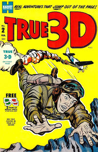 Cover Thumbnail for True 3-D (Harvey, 1953 series) #2