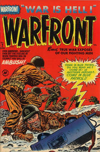 Cover Thumbnail for Warfront (Harvey, 1951 series) #7