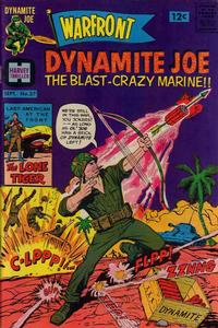 Cover Thumbnail for Warfront (Harvey, 1965 series) #37