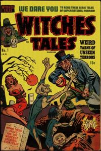 Cover Thumbnail for Witches Tales (Harvey, 1951 series) #1