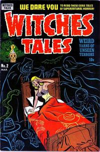 Cover Thumbnail for Witches Tales (Harvey, 1951 series) #2