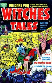Cover Thumbnail for Witches Tales (Harvey, 1951 series) #9