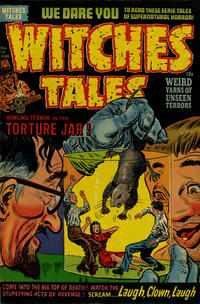 Cover Thumbnail for Witches Tales (Harvey, 1951 series) #13