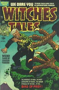 Cover Thumbnail for Witches Tales (Harvey, 1951 series) #18