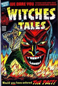 Cover Thumbnail for Witches Tales (Harvey, 1951 series) #19