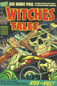 Cover Thumbnail for Witches Tales (Harvey, 1951 series) #20