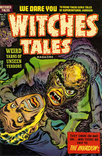Cover Thumbnail for Witches Tales (Harvey, 1951 series) #21