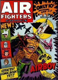 Cover Thumbnail for Air Fighters Comics (Hillman, 1941 series) #v1#2 [2]