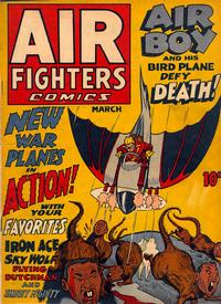 Cover Thumbnail for Air Fighters Comics (Hillman, 1941 series) #v1#6 [6]