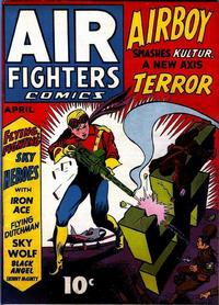 Cover Thumbnail for Air Fighters Comics (Hillman, 1941 series) #v1#7 [7]