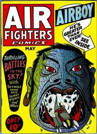 Cover Thumbnail for Air Fighters Comics (Hillman, 1941 series) #v1#8 [8]