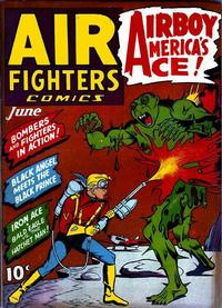 Cover Thumbnail for Air Fighters Comics (Hillman, 1941 series) #v1#9 [9]