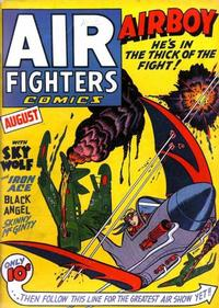Cover Thumbnail for Air Fighters Comics (Hillman, 1941 series) #v1#11 [11]