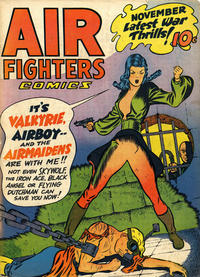 Cover Thumbnail for Air Fighters Comics (Hillman, 1941 series) #v2#2 [14]