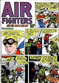 Cover Thumbnail for Air Fighters Comics (Hillman, 1941 series) #v2#3 [15]