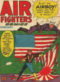 Cover Thumbnail for Air Fighters Comics (Hillman, 1941 series) #v2#5 [17]