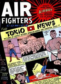 Cover Thumbnail for Air Fighters Comics (Hillman, 1941 series) #v2#10 [22]