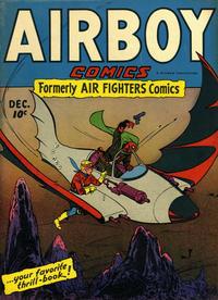 Cover Thumbnail for Airboy Comics (Hillman, 1945 series) #v2#11 [23]