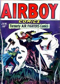 Cover Thumbnail for Airboy Comics (Hillman, 1945 series) #v2#12 [24]