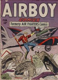 Cover Thumbnail for Airboy Comics (Hillman, 1945 series) #v3#1 [25]