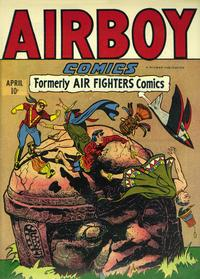 Cover Thumbnail for Airboy Comics (Hillman, 1945 series) #v3#2 [26]