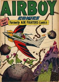 Cover Thumbnail for Airboy Comics (Hillman, 1945 series) #v3#4 [27]