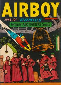 Cover Thumbnail for Airboy Comics (Hillman, 1945 series) #v3#5 [28]