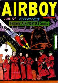 Cover Thumbnail for Airboy Comics (Hillman, 1945 series) #v3#5 [28]