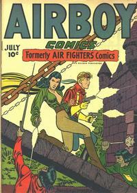 Cover Thumbnail for Airboy Comics (Hillman, 1945 series) #v3#6 [29]