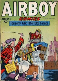 Cover Thumbnail for Airboy Comics (Hillman, 1945 series) #v3#7 [30]