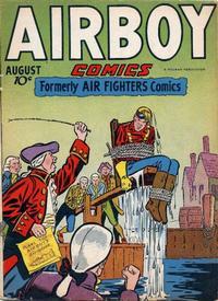 Cover Thumbnail for Airboy Comics (Hillman, 1945 series) #v3#7 [30]