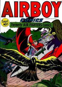 Cover Thumbnail for Airboy Comics (Hillman, 1945 series) #v3#8 [31]