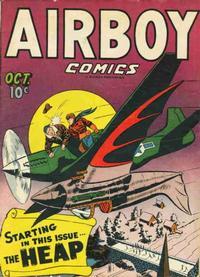 Cover Thumbnail for Airboy Comics (Hillman, 1945 series) #v3#9 [32]
