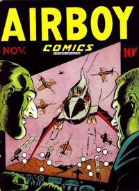 Cover Thumbnail for Airboy Comics (Hillman, 1945 series) #v3#10 [33]
