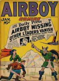 Cover Thumbnail for Airboy Comics (Hillman, 1945 series) #v3#12 [35]