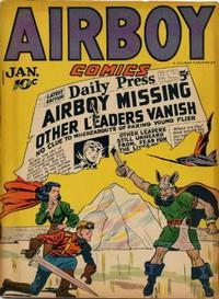 Cover Thumbnail for Airboy Comics (Hillman, 1945 series) #v3#12 [35]