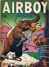 Cover Thumbnail for Airboy Comics (Hillman, 1945 series) #v4#1 [36]