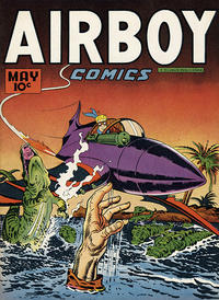 Cover Thumbnail for Airboy Comics (Hillman, 1945 series) #v4#4 [39]