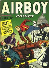Cover Thumbnail for Airboy Comics (Hillman, 1945 series) #v4#5 [40]
