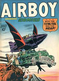 Cover Thumbnail for Airboy Comics (Hillman, 1945 series) #v4#6 [41]