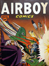 Cover Thumbnail for Airboy Comics (Hillman, 1945 series) #v4#7 [42]